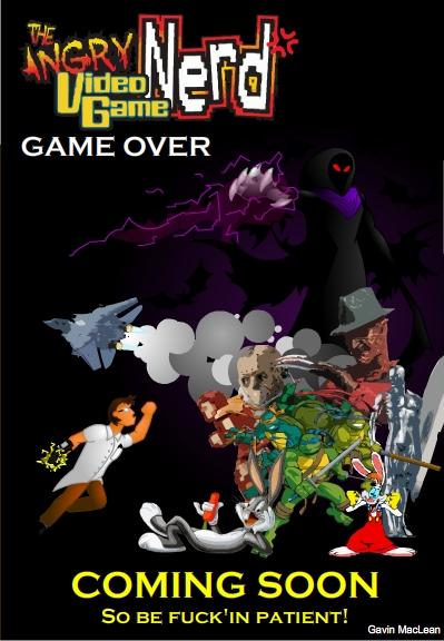 AVGN Game Over 1 Y 2 AVGN_GameOver_CoverArt_2