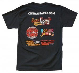 Cinemassacre's-Shows-Men's-T-shirt-Back