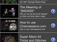 Cinemassacre App Photo