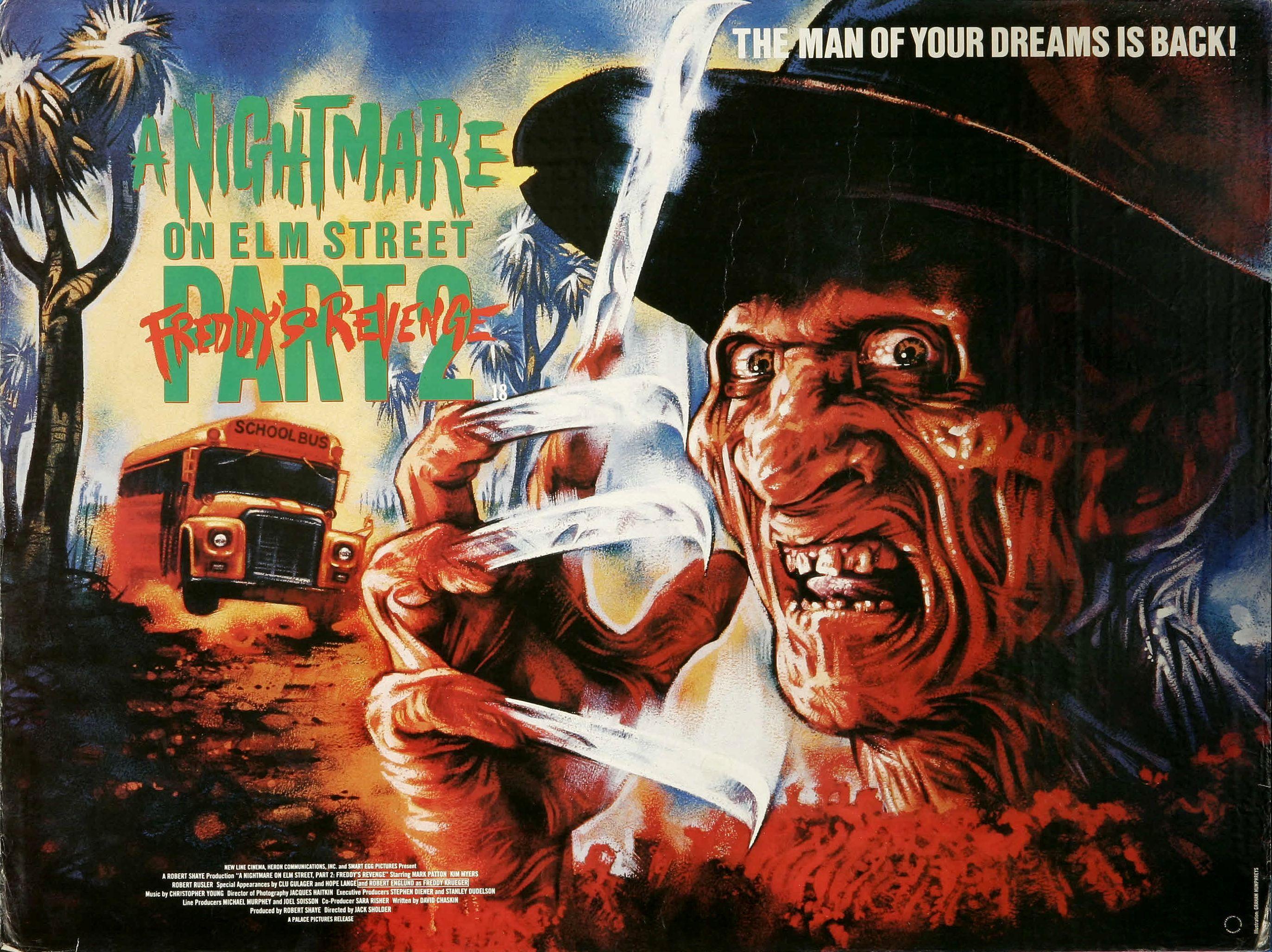 Nightmare On Elm Street 2 Poster Nightmare on Elm Stree...