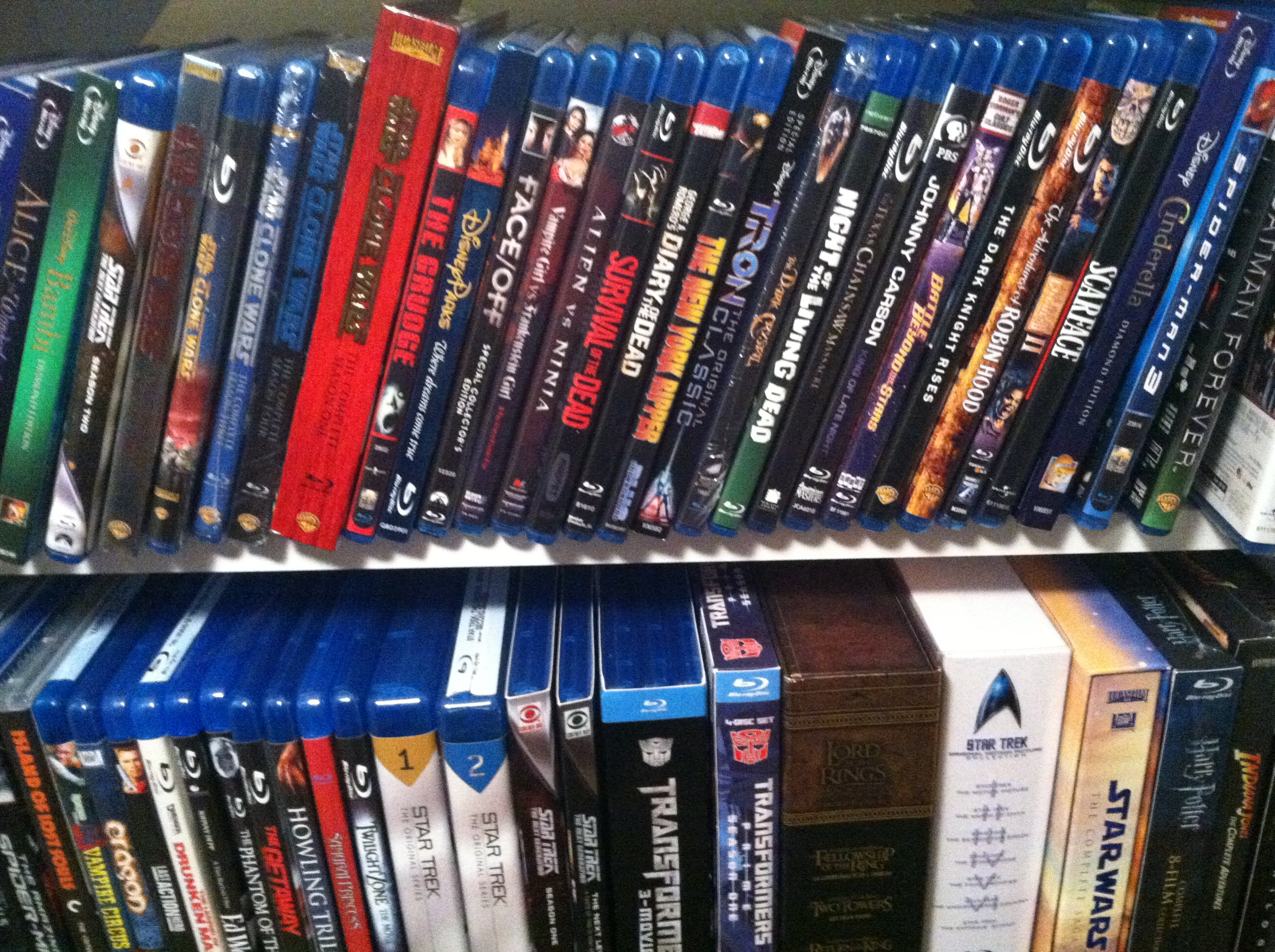 mike s blu ray collection cinemassacre productions. Black Bedroom Furniture Sets. Home Design Ideas