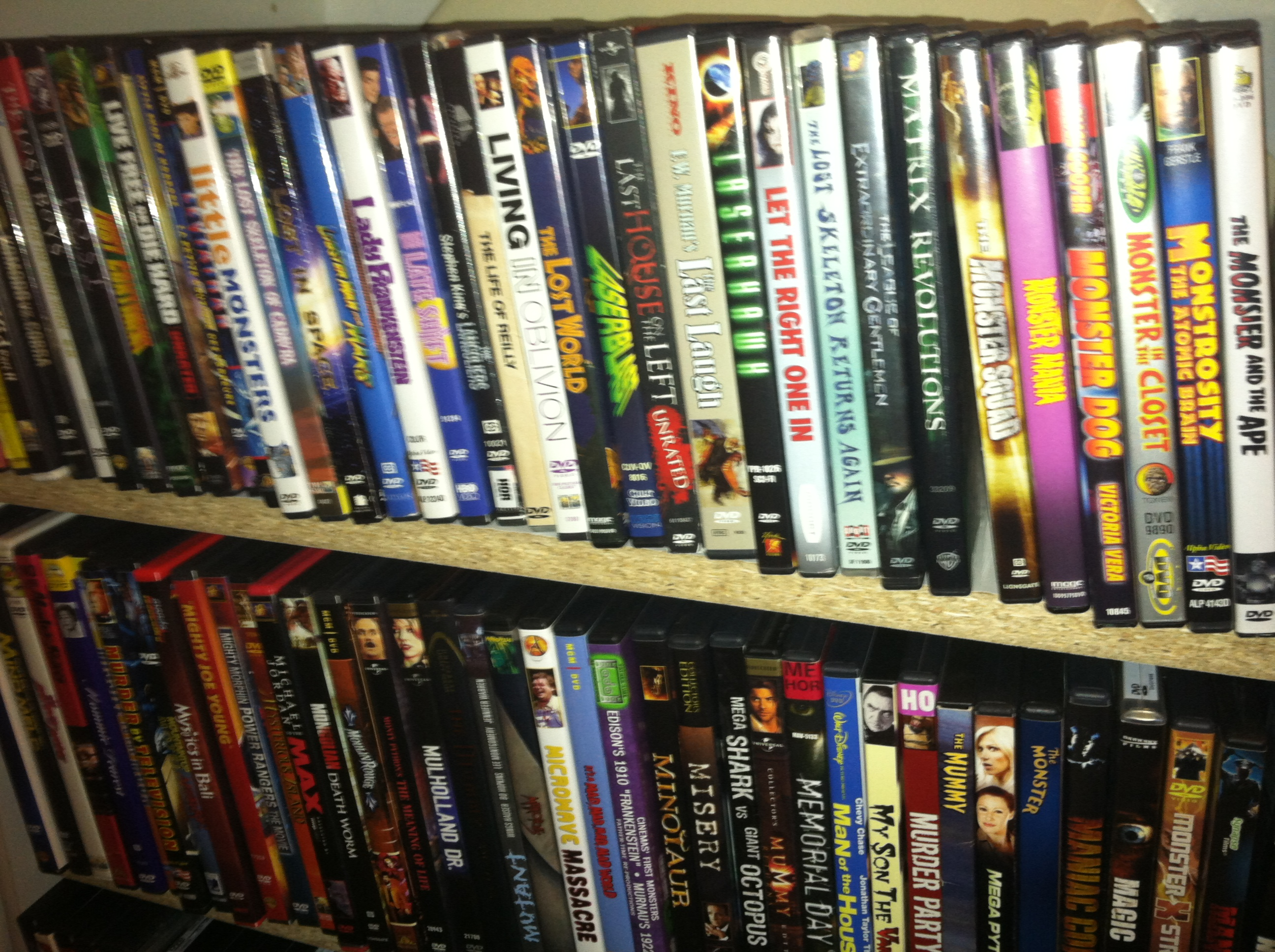 Mike\'s DVD Collection | Cinemassacre Productions