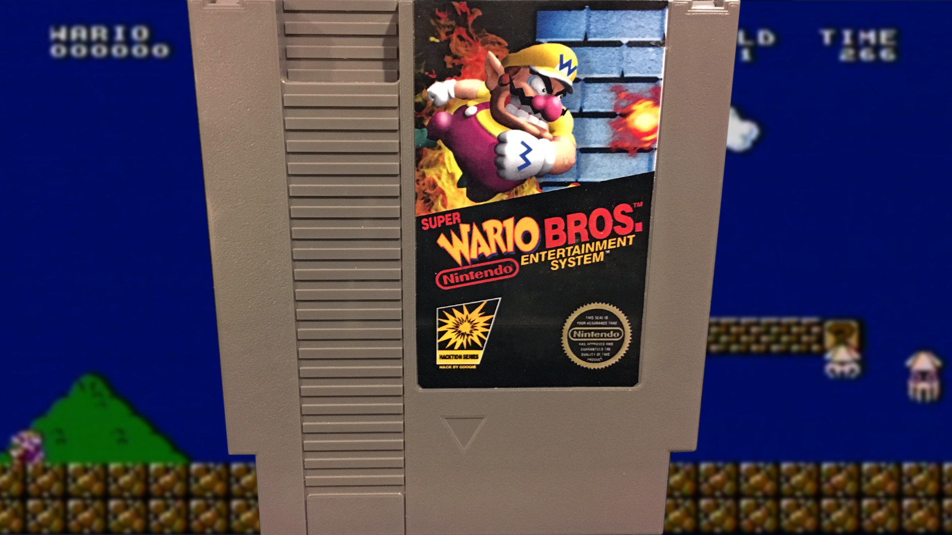Super Wario Bros (NES) Mike & Bootsy   Cinemassacre Productions