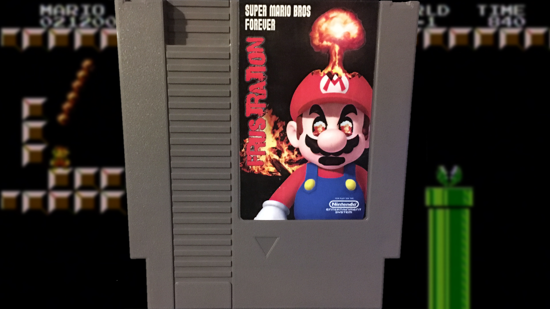 Super Mario Frustration Forever (NES) Mike & Bootsy | Cinemassacre ...