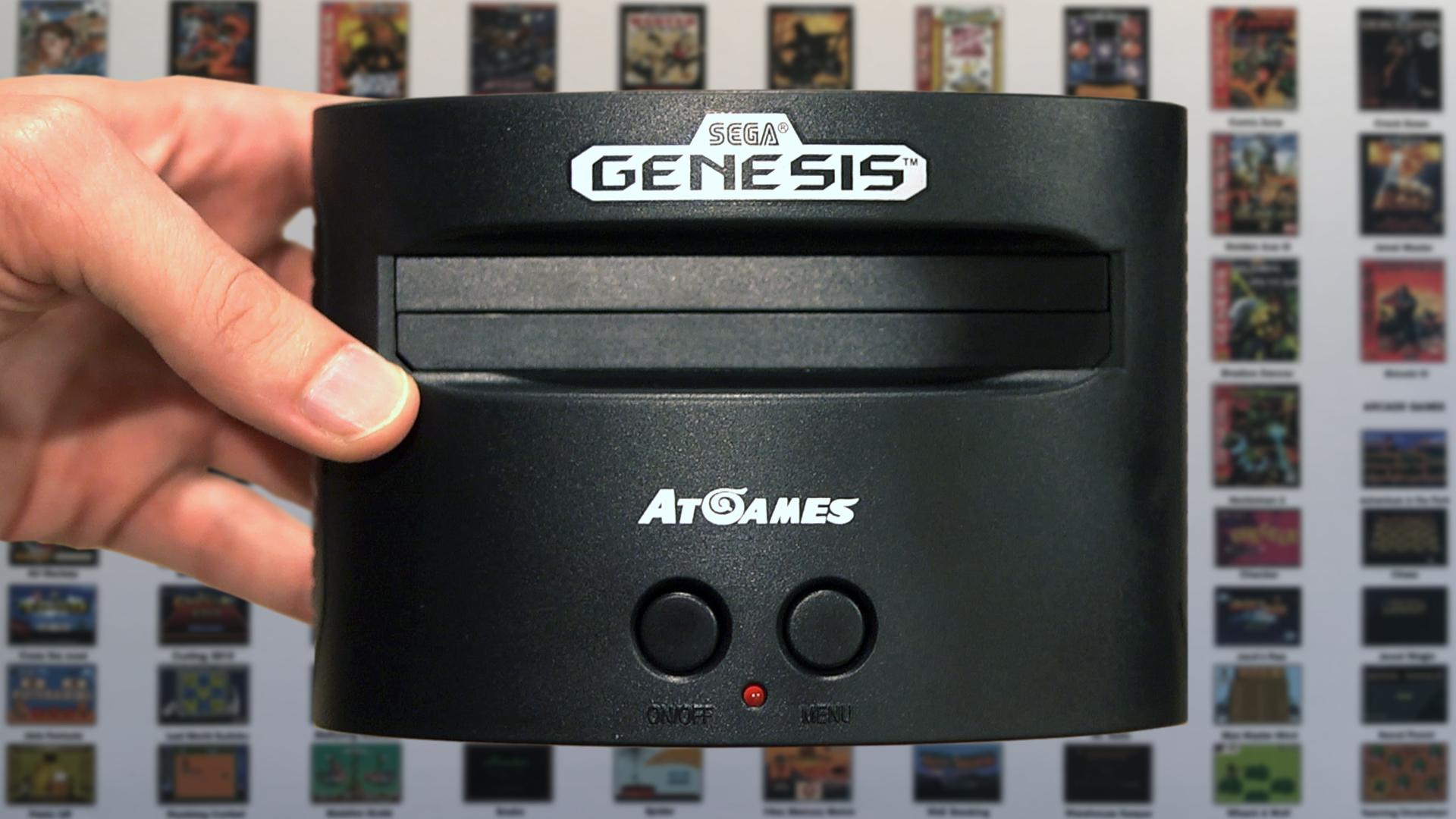 Sega genesis classic game console cinemassacre productions - Sega genesis classic game console game list ...
