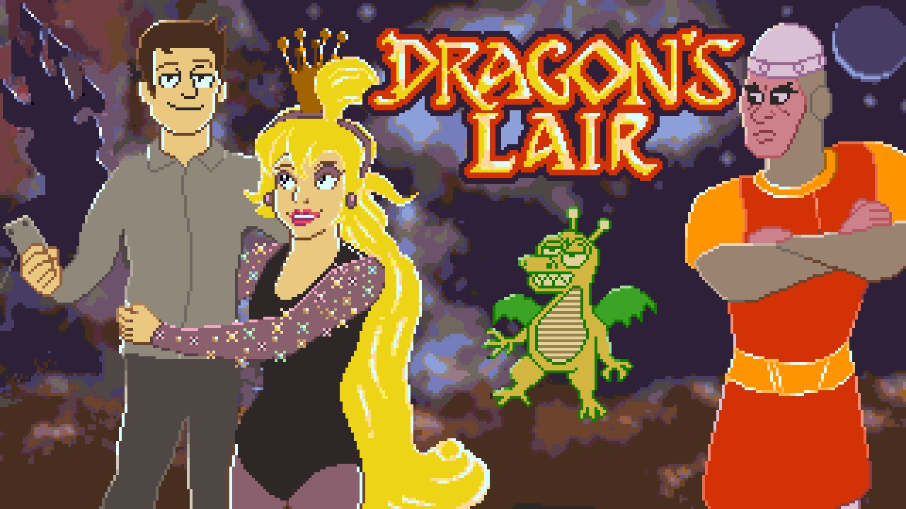 Dragon s lair nes full playthrough cinemassacre for Dragon s lair