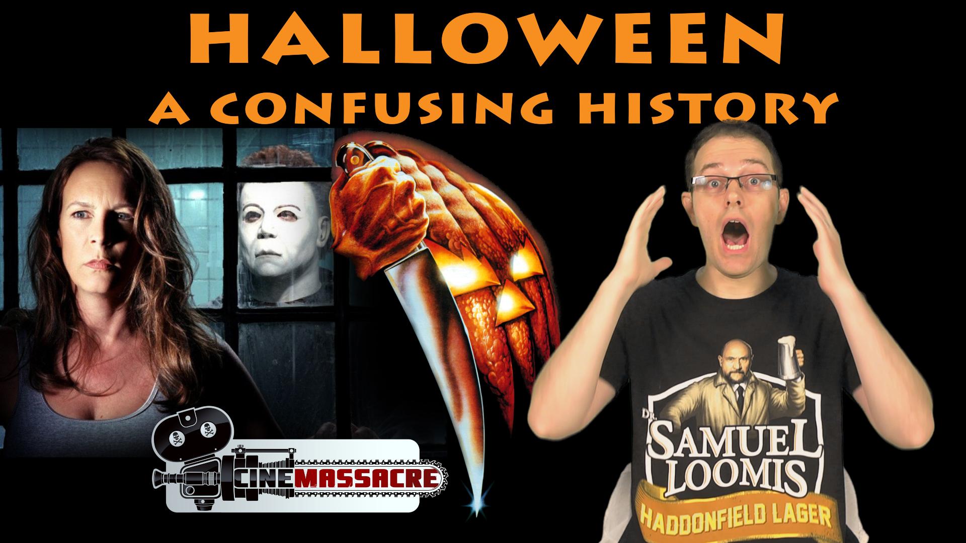 halloween movie timelines explained cinemassacre productions